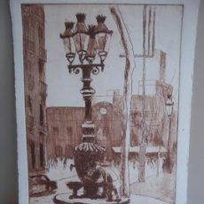 Arte: SIMO BUSOM - GRABADO. Lote 218529610