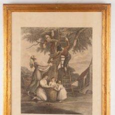 Arte: THE TWELVE MONTHS OF THE YEAR - FRANCESCO BARTOLOZZI. Lote 218531905