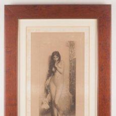 Arte: LA CIGALE - J. LEFEBVRE - J. HUOT - GOUPIL 1872. Lote 218534502