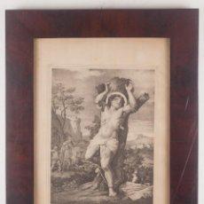 Arte: SAN SEBASTIAN, ABOGADO CONTRA LAS ENFERMEDADES INFECCIOSAS - C. MUGICA / A. PASCUAL 1856. Lote 218536210