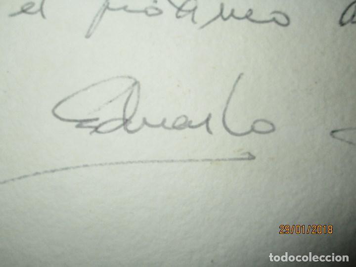 Arte: EXCELENTE OBRA DE ARTE antiguo grabado fin de siglo MANUSCRITO A LAPIZ MOLINA AZNAR firmado - Foto 8 - 218550987