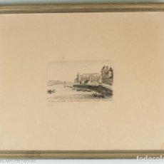 Arte: LE LOUVRE ET LE PAVILLON DU ROY EN 1650 - J. M. CALETA. Lote 218712875