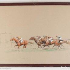 Arte: E. PÉCHAUBÈS - KEMPTON PARK - FIRMADO. Lote 218715838