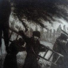 """Arte: RICARDO BAROJA, GRABADO. """"EL AHORCADO"""". Lote 218724741"""