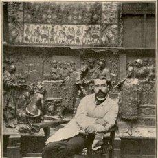 Arte: 1896 - ANTONIO SUSILLO - ESCULTOR - LA ILUSTRACIÓN ESPAÑOLA. Lote 218781155