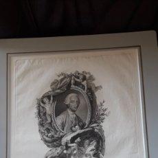 Arte: ANTIGUO GRABADO, CARLOS III, POR F. SELMA. Lote 218792926