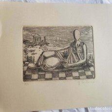 Arte: GIORGIO DE CIRICO ETCHING. Lote 218826391