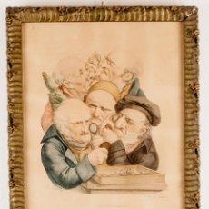 Arte: LES ANTIQUAIRES - BOILLY - DELCHEP + MARCO. Lote 218826700