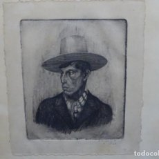 Arte: GRABADO DE JOSEP RIGOL FORNAGUERA.1927. Lote 218848192