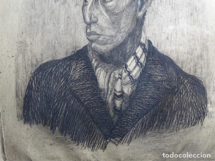 Arte: GRABADO DE JOSEP RIGOL FORNAGUERA.1927 - Foto 4 - 218848192