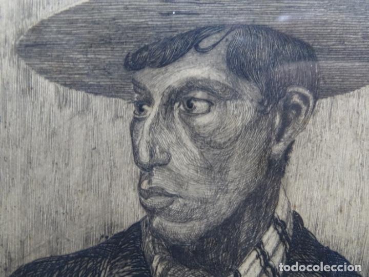 Arte: GRABADO DE JOSEP RIGOL FORNAGUERA.1927 - Foto 5 - 218848192