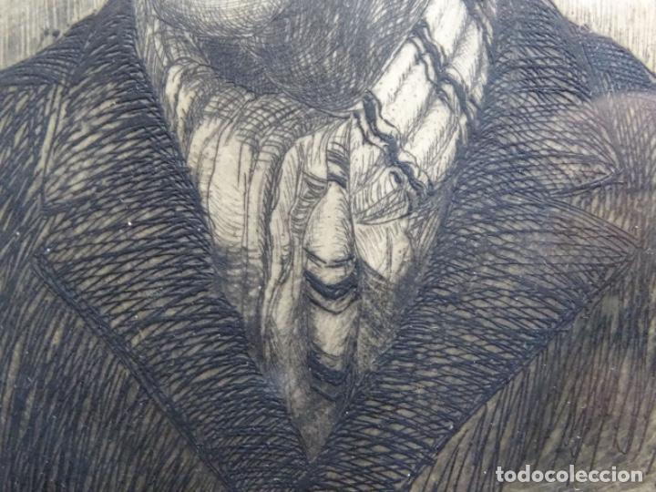 Arte: GRABADO DE JOSEP RIGOL FORNAGUERA.1927 - Foto 7 - 218848192