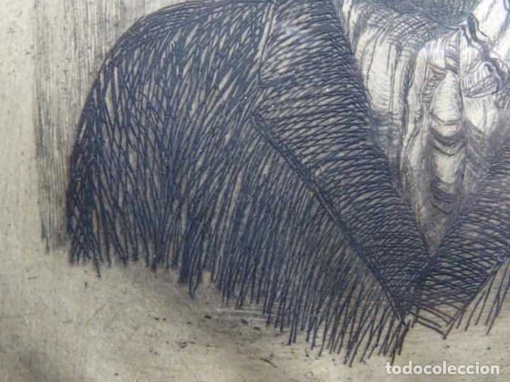 Arte: GRABADO DE JOSEP RIGOL FORNAGUERA.1927 - Foto 8 - 218848192