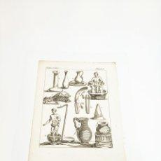 Arte: GRABADO COSTUME DE ANCIENS PEUPLES, USAGES RELIGIEUX, CIVILS ET DOMESTIQUES DES GRECS ET DES ROMAINS. Lote 218942698