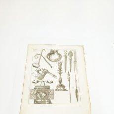 Arte: GRABADO 2 COSTUME DE ANCIENS PEUPLES,USAGES RELIGIEUX,CIVILS ET DOMESTIQUES DES GRECS ET DES ROMAINS. Lote 218942765