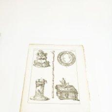 Arte: GRABADO 3 COSTUME DE ANCIENS PEUPLES,USAGES RELIGIEUX,CIVILS ET DOMESTIQUES DES GRECS ET DES ROMAINS. Lote 218942797