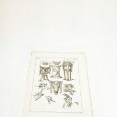 Arte: GRABADO 4 COSTUME DE ANCIENS PEUPLES,USAGES RELIGIEUX,CIVILS ET DOMESTIQUES DES GRECS ET DES ROMAINS. Lote 218942826