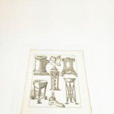 Arte: GRABADO 5 COSTUME DE ANCIENS PEUPLES,USAGES RELIGIEUX,CIVILS ET DOMESTIQUES DES GRECS ET DES ROMAINS. Lote 218942851