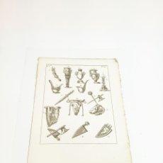 Arte: GRABADO13 COSTUME DE ANCIENS PEUPLES,USAGES RELIGIEUX,CIVILS ET DOMESTIQUES DES GRECS ET DES ROMAINS. Lote 218943057