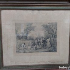 Arte: GRABADO FRANCÉS DE 1886. Lote 219004683
