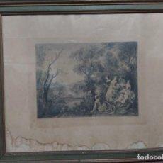 Arte: GRABADO FRANCÉS DE 1890. Lote 219004911