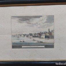 Arte: GRABADO DEL PUERTO DE CÁDIZ. Lote 219006380