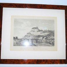 Arte: MONTSERRAT - MONISTROL. BARCELONA. VISTA DEL PUENTE DE MONISTROL Y MONTSERRAT. 1806.. Lote 11879291
