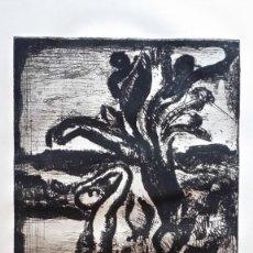 Arte: GEORGES ROUAULT, AGUAFUERTE, PAYSAGE AUX PALMIERS -DEL PERE UBU-, VOLLARD, PARÍS, 1932. Lote 219330320