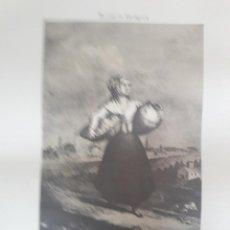 Arte: GRABADO RUINAS DE ZARAGOZA. MARÍA AGUSTÍN. 57 CM POR 48 CM. AÑO 1975. Lote 219448190