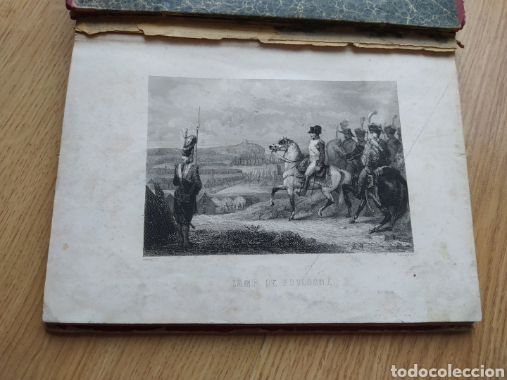 Arte: Album de pequeñas litografías (21x16). Época napoleónica. Guerra europea. Napoleón Bonaparte. - Foto 2 - 219633300