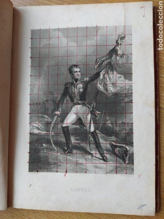 Arte: Album de pequeñas litografías (21x16). Época napoleónica. Guerra europea. Napoleón Bonaparte. - Foto 3 - 219633300
