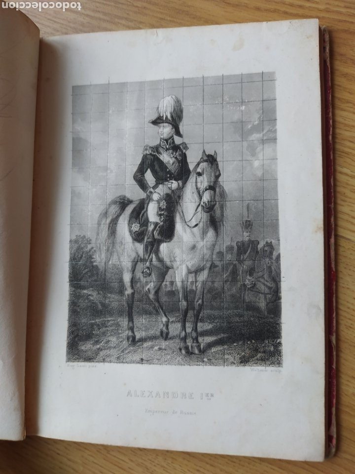 Arte: Album de pequeñas litografías (21x16). Época napoleónica. Guerra europea. Napoleón Bonaparte. - Foto 4 - 219633300