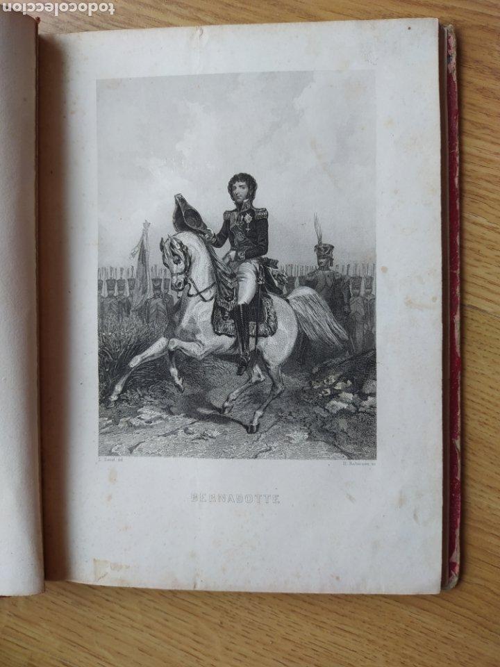 Arte: Album de pequeñas litografías (21x16). Época napoleónica. Guerra europea. Napoleón Bonaparte. - Foto 6 - 219633300