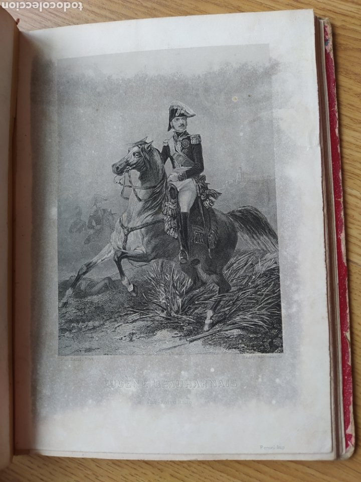 Arte: Album de pequeñas litografías (21x16). Época napoleónica. Guerra europea. Napoleón Bonaparte. - Foto 11 - 219633300