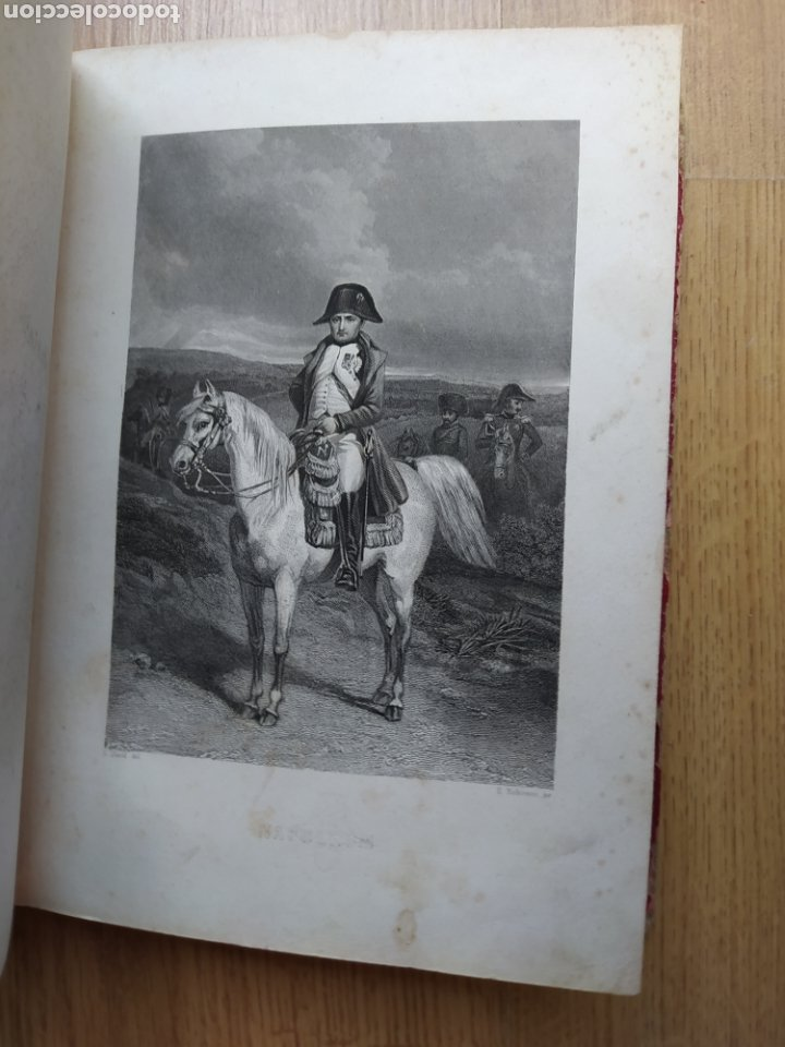 Arte: Album de pequeñas litografías (21x16). Época napoleónica. Guerra europea. Napoleón Bonaparte. - Foto 17 - 219633300