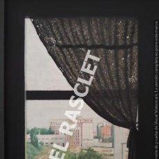 Arte: BONITO CUADRO -PINTURA - BORDADO A MANO - BONITAS VISTA DESDE LA VENTANA - AÑO 1990 -. Lote 219722835