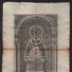 Arte: N.S. DE GRACIA. PATRONA DE LA CIUDAD DE CARMONA-SEVILLA, PIE: F.M. MARTIN..- VER FOTOS. Lote 219812173