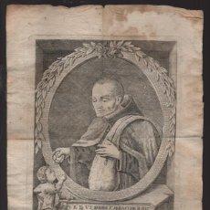 Arte: V.R.F.V.S. D DIOS F.SEBASTIAN..- DIBUJO Y GRABADO PORFRAN. GORDILLO SEV.1779, VER FOTOS. Lote 219812420