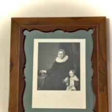 Arte: GRABADO BARTOLOMÉ VAN DER HELST (S.XIX). Lote 220597858