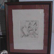 Arte: GRABADO AL AGUAFUERTE. COMPOSICIÓN. XAVIER ROMEU. P/E.. Lote 220640922