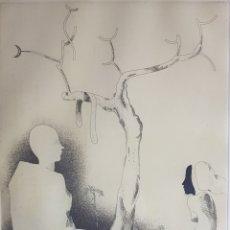Arte: GRABADO DE RAMÓN PUJOLBOIRA (1949-2019). Lote 220738742