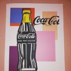 Arte: ANDY WARHOL LITOGRAFIA COCA COLA NUM. 100/100. Lote 221380466