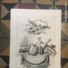 Arte: CAPELLADAS - GRABADO - A F PAPEL SUPERIOR DE LA FÁBRICA DE JAIME FERRER Y ROCA DE CAPELLADAS - PROVI. Lote 221671152