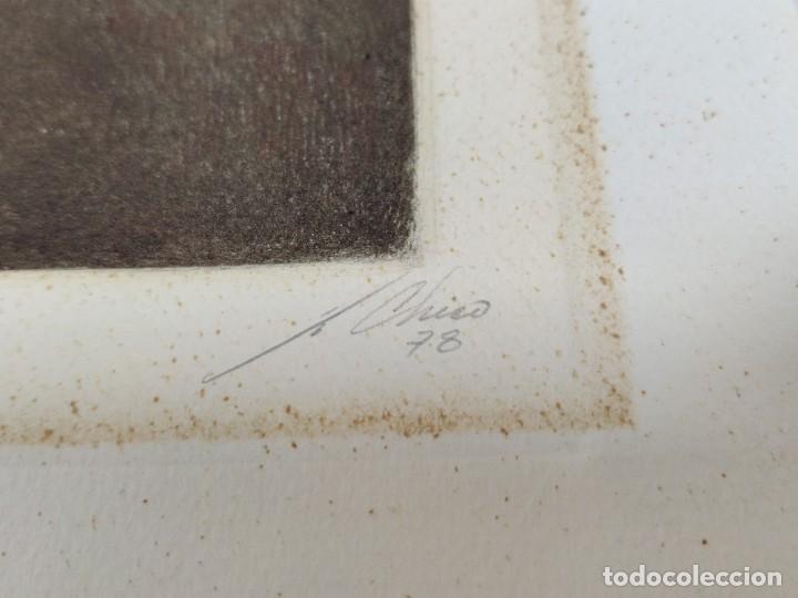 Arte: Mujer en la ventana por Julio Chico, 1978, 12/40 - Foto 4 - 221709116