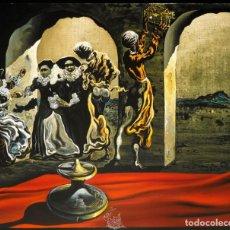 Arte: IMPRESIONANTE GRABADO DE DALI,BUSTO DE VOLTAIRE,FIRMADO Y NUMERADO,50 X 65 CM. Lote 221730181