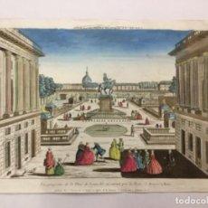 Arte: PARIS. PLACE LOUIS XV PORTE S HONORE. CHEZ JACQUES CHEREAU.. Lote 221805042