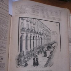 Arte: ENTIERRO DEL ILMO SR. D. MATEO JAUME Y GARAU, FOTOGRABADO DE THOMAS 1886 LA HORMIGA DE ORO, MALLORCA. Lote 221859506
