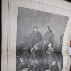 Arte: HERMANOS DE SAN JUAN DE DIOS, FOTOGRABADO DE THOMAS 1886 LA HORMIGA DE ORO. Lote 221859587