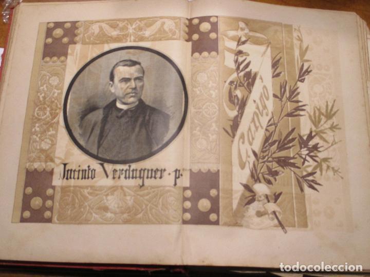 JACINTO VERDAGUER, CANIGÓ, FOTOGRABADO DE THOMAS 1886 LA HORMIGA DE ORO (Arte - Grabados - Modernos siglo XIX)