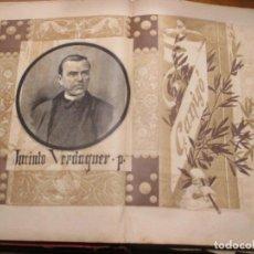 Arte: JACINTO VERDAGUER, CANIGÓ, FOTOGRABADO DE THOMAS 1886 LA HORMIGA DE ORO. Lote 221860526